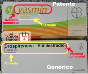 patente vs genérico frente