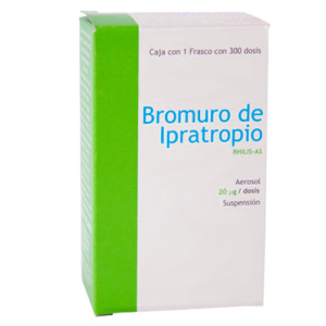Bromuro de ipratropio