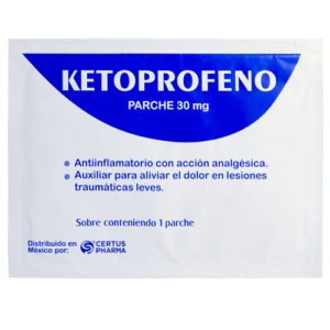 Parches de ketoprofeno