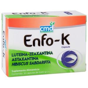 Un suplemento con luteína es Enfo-K