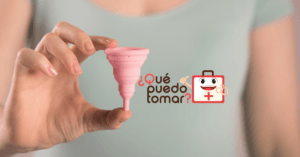 Copa menstrual hecha de silicon