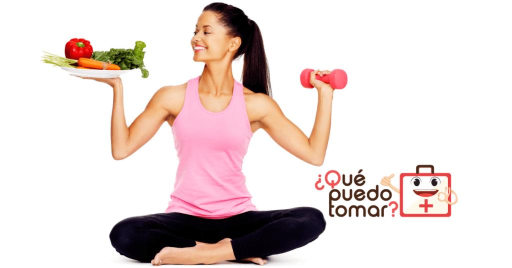 Alimentación más ejercicio, la clave de una vida saludable.