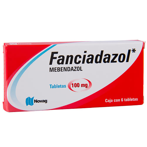 Fanciadazol-Mebendazol, tabletas 100 mg